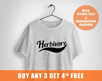 herbivore shirt,Funny Vegan Shirt,Herbivore T Shirt,Humor Cute Funny Vegetarian t-shirt,Gifts for Vegans,Shirt Animal Rights Top,Plant Cloth