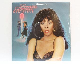 Donna Summer, Bad Girls - Double Album Set, 1979, Vintage LP, Vinyl, Record, Gatefold Album