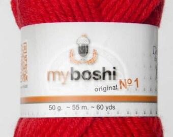 My Boshi yarn red 132