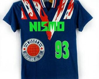 RARE!! Vintage NISMO Nissan Racing//International Motorsport Racing Team// Japanese Motorsport since 1990// Size L// Collection Item