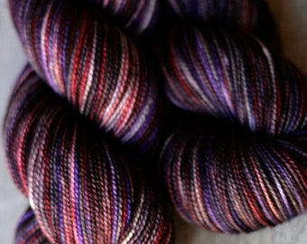 """Sock yarn - 100% SW Merino - Autocorrect - """"Throwing Some Panties On The Grill"""""""