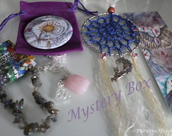 Mystery Box- Surprise Gift Lucky Dip Present Witch Angel Fairy Alternative Art Textiles