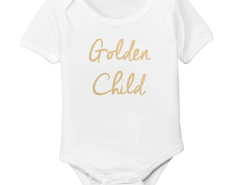 Golden Child Organic Cotton Baby Bodysuit