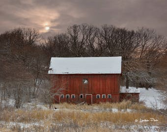 Winter Barn # 88