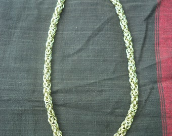 Byzantine Chain Maille Necklace