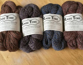 Ragg Tyme Sock Yarn Superfine Alpaca Blend