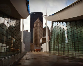 Pittsburgh Photography - David L. Lawrence Convention Center Rooftop Photo - Three Rivers Wall Decor - Open Doors Pittsburgh Fine Art