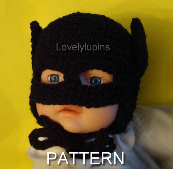 Batman crochet hat pattern batman baby crochet beanie batman crochet hat pattern batman baby crochet beanie batman baby hat size 0 to 3 months motif de bebe batman crochet baby gift dt1010fo