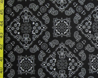 Bandana Black (Order by Print)
