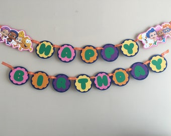 Bubble Guppies Banner