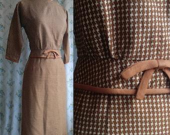 1950s secretary dress suit