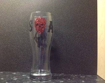 Sons of Anarchy inspired Pint Glass Can Be Personalised