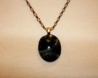 Picasso Stone Designer Cabochon Necklace