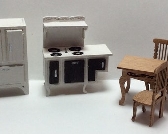 Quarter Inch Scale Victorian Style Kitchen Furniture Kit