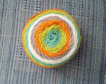 Crochet Octopus-Tangerine
