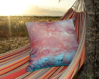 Jelly Fish, underwater photography,Great Barrier Reef, Hand made cushions