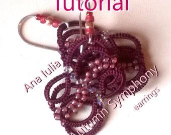 Autumn Symphony earrings Tutorial