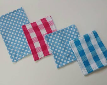 4pk flannel wipes, cloth wipes, reusable wipes, baby wipes, family cloth, flannel, high quality, ready to ship, baby gift, free shipping