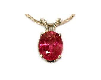 Antique Ruby Gemstone 19th Century Handcut Ruby Pendant Ancient Greek Cosmos Raspberry Red Ruby Courage Talisman Sterling Pendant #59891