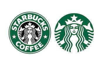 starbucks vector svg etsy rh etsy com starbuck coffee vector logo starbucks vector logo free
