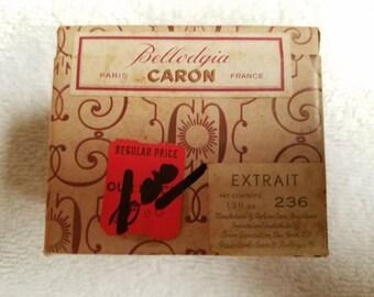 Vintage 1920's Caron Bellodgia Extrait 0.5 oz