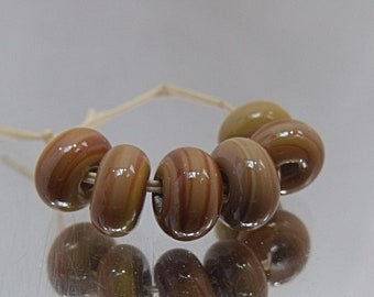 Saw Mill, Artisan Lampwork Glass Beads, SRA, UK