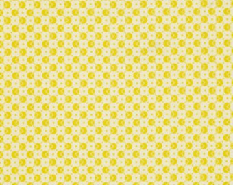 Chicopee by Denyse Schmidt - Lime Zig Zag Dot -  1/2 yard cotton quilt fabric 516