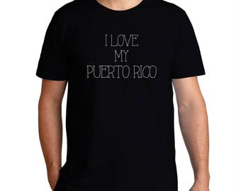 I Love My Puerto Rico T-Shirt