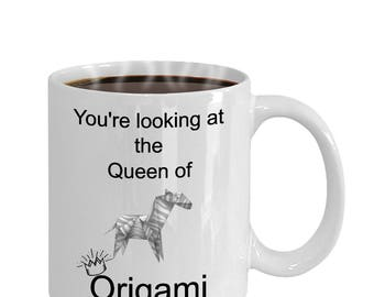 Origami gift mug.