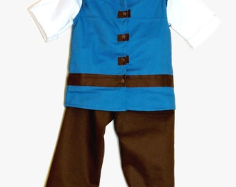 Flynn Rider Costume - Rapunzel - Flynn Rider Outfit - Tangled - Rapunzel Prince  Halloween - Costume - Prince Costume - toddler costume