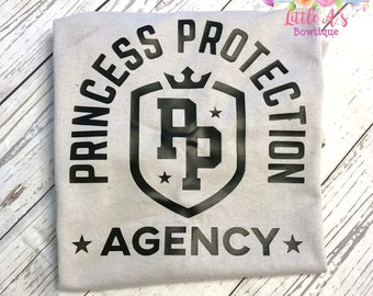 Princess Protection Agency, Dad of girls, Brothers shirt, Dad shirt, Trip to happiest place on earth, Princess, Dad, brother