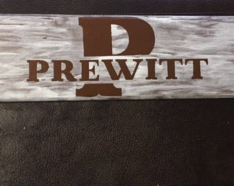 Personalized painted wood names hand crafted home decor sign you choose color