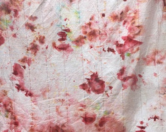 Hand dyed curtains 100% cotton