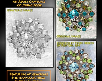 New Creations Coloring Book Series: GEMSTONES
