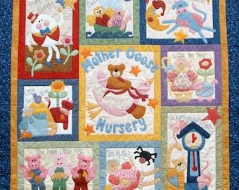Mother Goose Quilt Pattern - Set of 10 Patterns