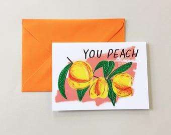 You Peach card