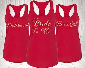TANK TOP Bride to be Wedding Gift, Bridesmaid Gift, BrideShirts, tank top Bride, bride to be, bridal shower gift