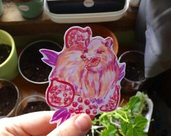 Pretty Possum Vinyl Sticker