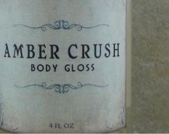 Amber Crush - Body Gloss - Amber Resins, Patchouli, Bourbon Vanilla