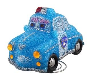 Police Car Lamp - Childrens Kids Boys Blue Bedroom Nursery Night Light