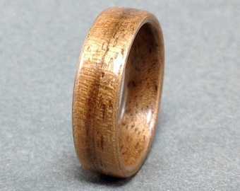 Walnut Bentwood Ring, Walnut Wood Ring