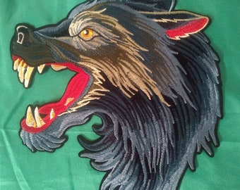 Wolf Patch Gucci Style Large USA free ship