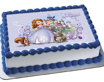 Sofia cake topper Etsy