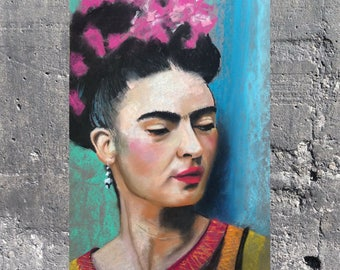 Frida Art Print by M. Hutt / A3 & A4
