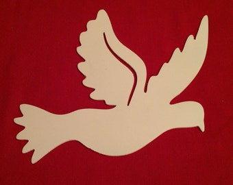 Metal Flying Dove of Peace