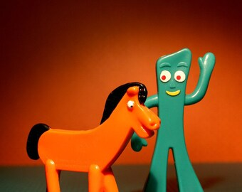 Gumby & Pokey - Photograph - Various Sizes