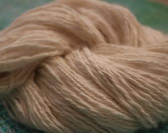 100% English Angora hand spun yarn