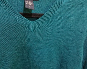 Aqua Green Sweater Banana Republic