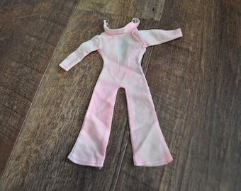 Vintage Barbie Clothes - Groovy Pink Suit