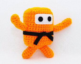 Mini Ninja Plush - Pumpkin / Orange / Tangerine / Citrine / Citrus